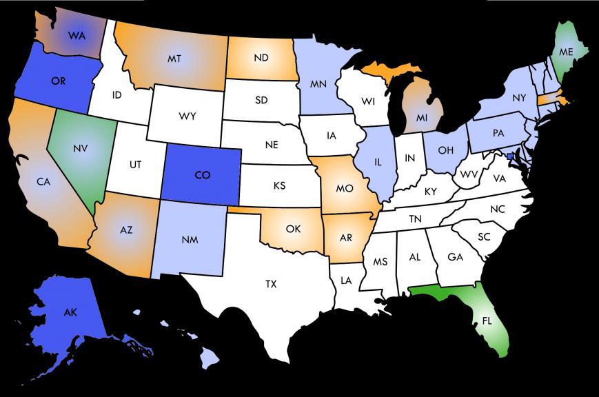 The 2016 Marijuana Legalization Landscape